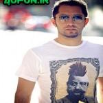 تی شرت عجیب و متفاوت بهرام رادان +عکس