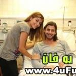 عکس فریدون زندی و همسرش در بیمارستان