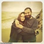 جدیدترین عکس شقایق دهقان در آغوش همسرش
