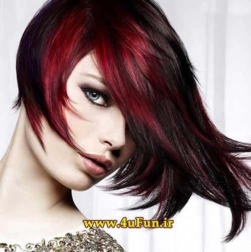 جدیدترین مدل های مو رنگ مو زنانه و دخترانه