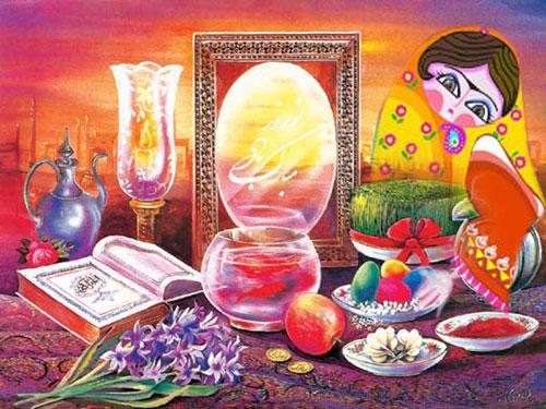 اس ام اس و پیامک ها تبریک عید نوروز 95