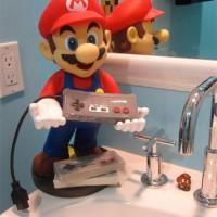 عکس های جالب از سرویس بهداشتی سوپر ماریو