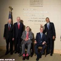 تصاویر :شوخی جالب اوباما