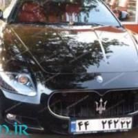 علی دایی و ماشین جدیدش مازراتی+عکس