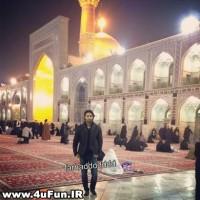 عکس فرهاد مجیدی در مشهد و حرم امام رضا